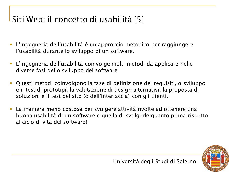 Siti Web: il concetto di usabilità [5]